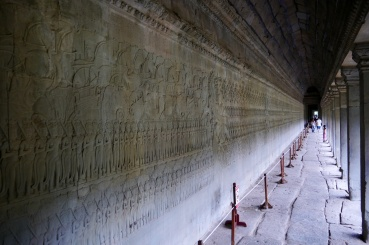 Another gallery at Angkor Wat