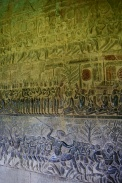 The bottom panels of this relief have been restored. Top to bottom, it's a depiction of heaven and hell.