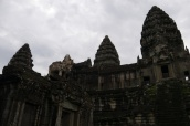 Three of five towers of Angkor Wat
