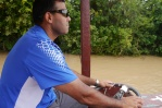Neerav takes a turn at the helm.