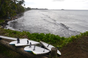 Surfing beach for beginners