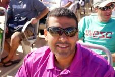 Neerav headed to paradise, the island of Moorea.