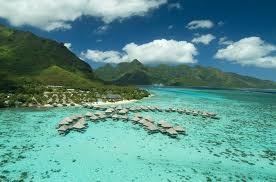 Aerial view of Hilton Moorea Lagoon Resort & Spa