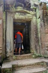 Aidan explores another passageway.