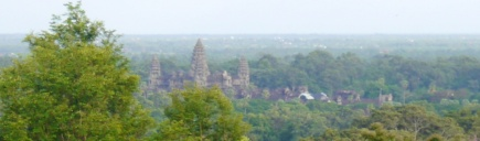 Angkor Wat in the distance